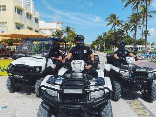 Oficiales investigan accidente de atropello y fuga en Miami Beach