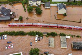 inundaciones en europa: mas de 90 muertos, sigue la busqueda