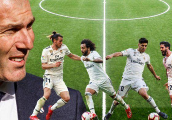 Se filtró una lista de jugadores del Real Madrid a los que Florentino Pérez quiere dar salida en el próximo mercado