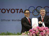 toyota retira publicidad olimpica en japon
