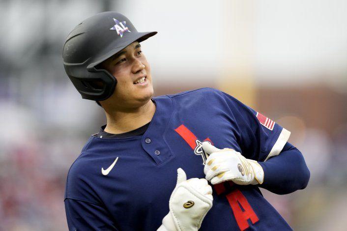 Ohtani, 1ro en Juego de Estrellas como pitcher y bateador