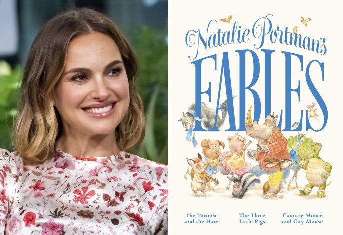 Natalie Portman actualiza 3 fábulas en nuevo libro infantil