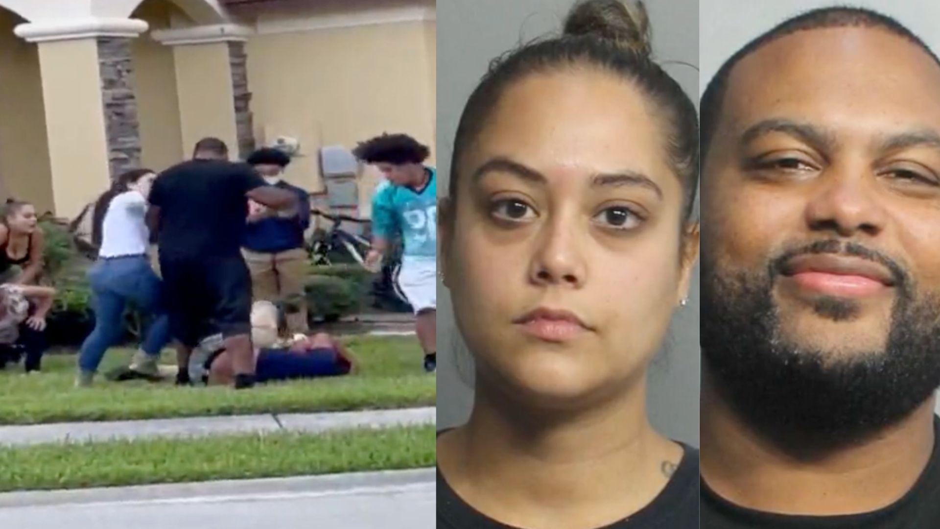 Doral: Tras las rejas una pareja por incentivar a su hijo a golpear brutalmente a un compañero de clases