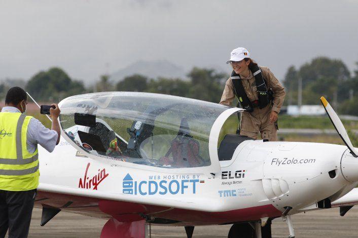 Joven belga que vuela alrededor del mundo llega a Panamá