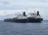 indonesia incauta barcos petroleros de iran y panama