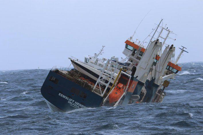 Controlan buque holandés a la deriva frente a costa noruega
