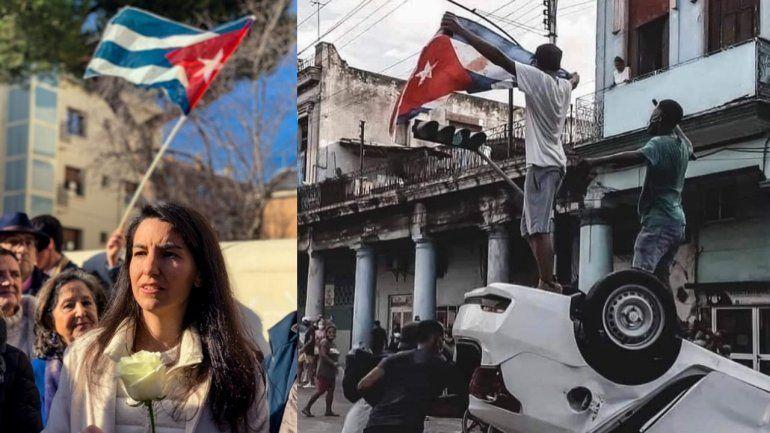 Rocío Monasterio: No vale con que les dejen manifestarse en Cuba. Tiene que caer el régimen de asesinos y dictadores