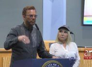 willy chirino y s esposa lissette alvarez piden en miami  intervencion humanitaria en cuba