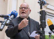 el papa rechaza renuncia de cardenal aleman, pide reformas