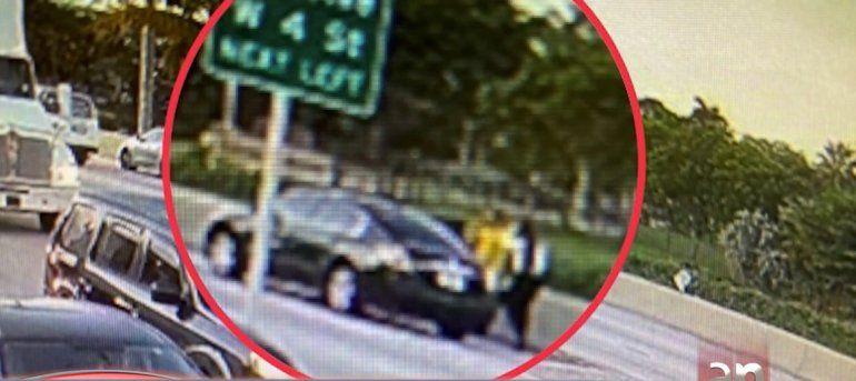 Buscan a conductor que atropelló a un motociclista en Hialeah