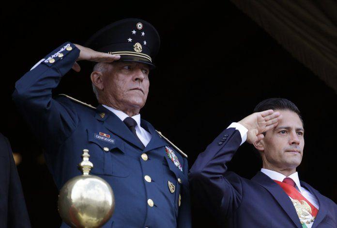 México divulga evidencia de EEUU contra general Cienfuegos