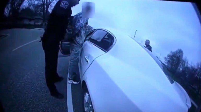 Publican las imágenes de la cámara corporal de la policía que mató al afroamericano Daunte Wright en Minneapolis