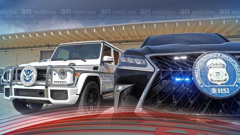 Departamento de Seguridad Nacional incauta en Fort Lauderdale 81 vehículos que iban a ser enviados de contrabando a Venezuela