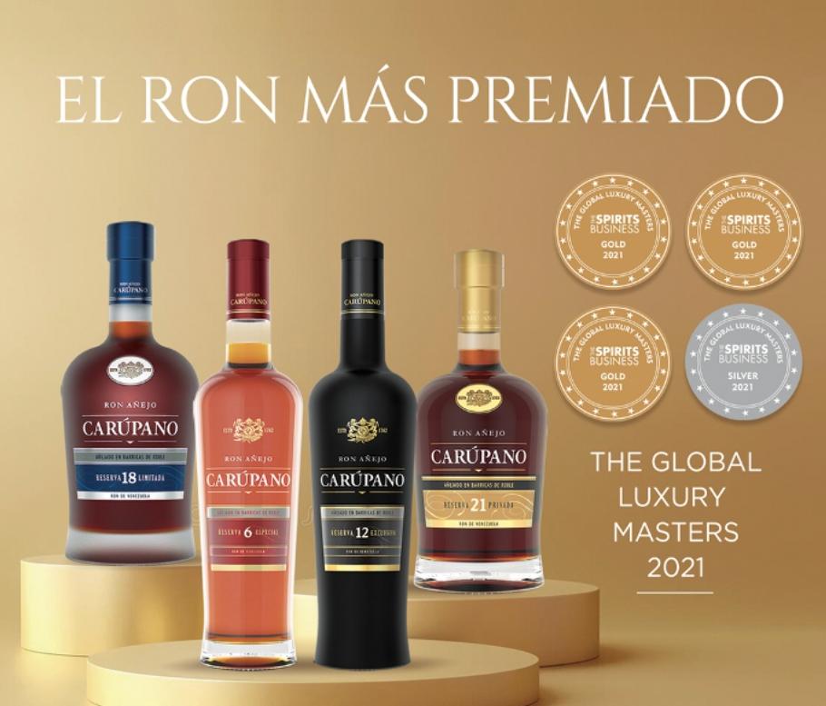 ron venezolano es el mas premiado en the luxury masters