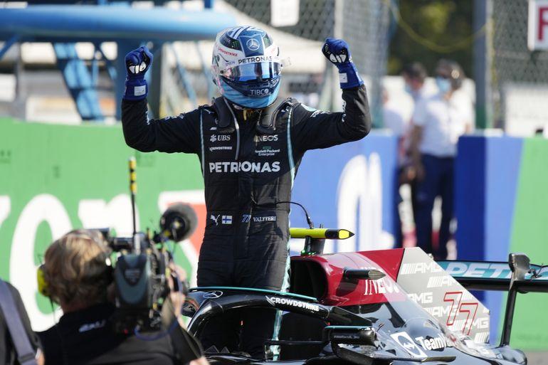 Bottas gana sprint, Verstappen la pole en GP de Italia