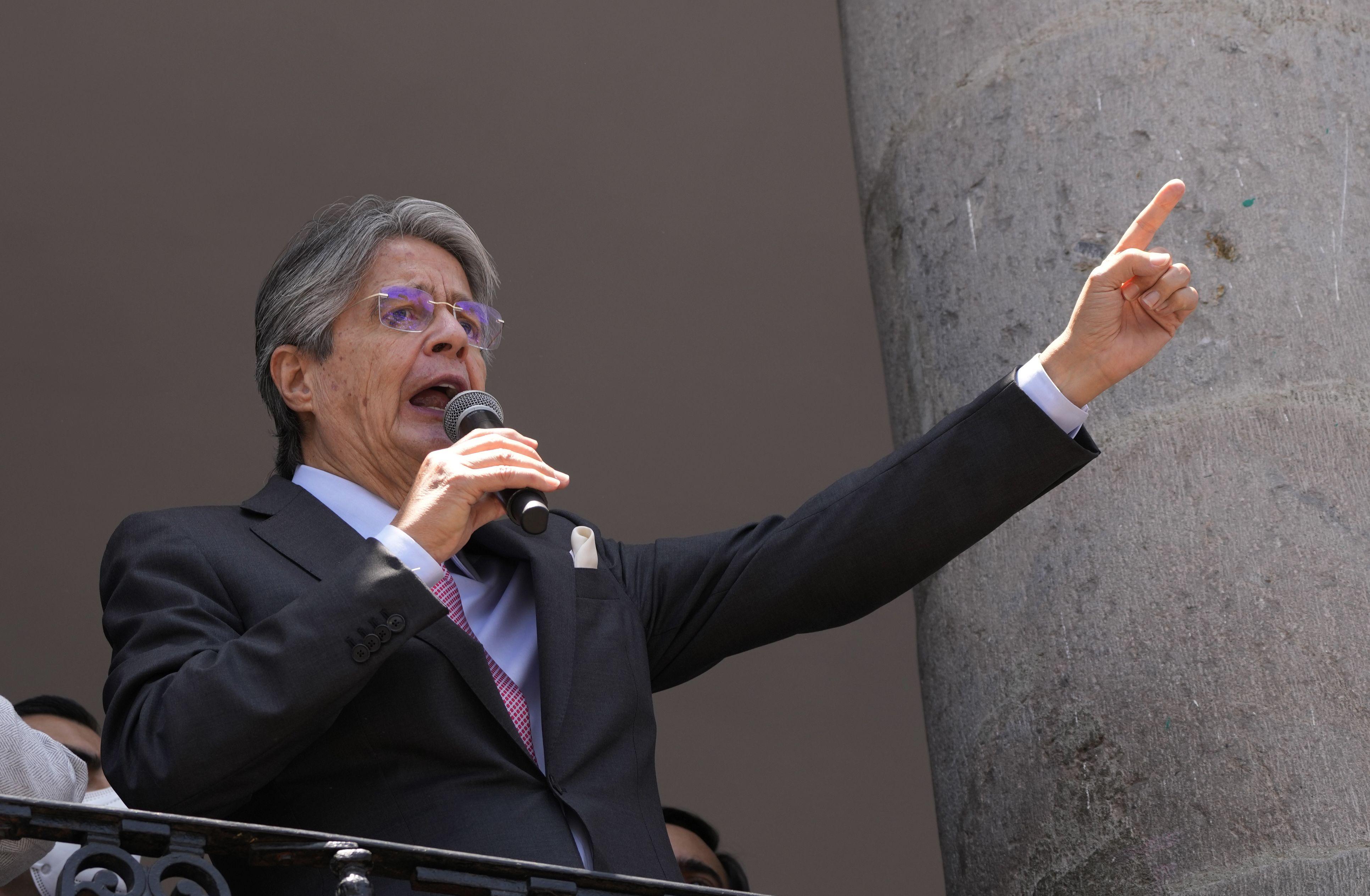ecuador: presidente lasso decreta el estado de excepcion
