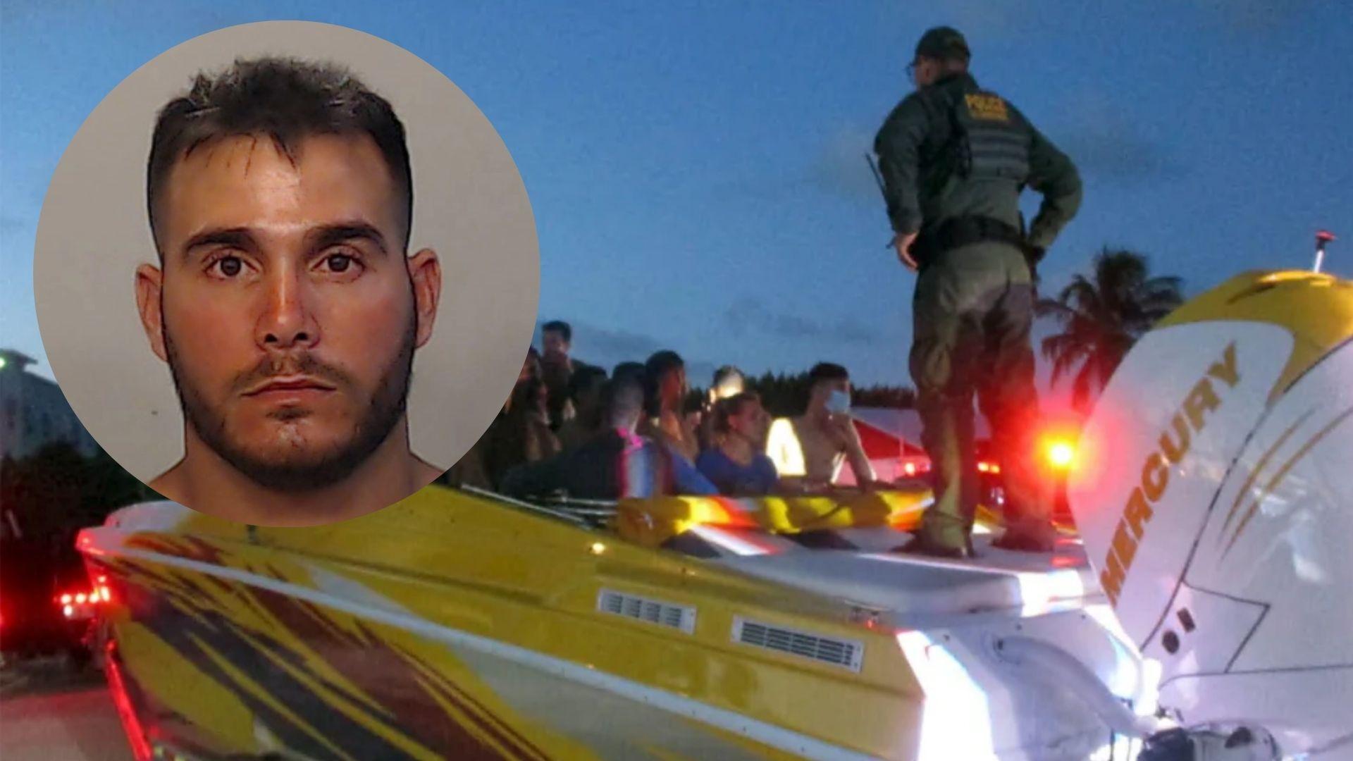 camionero cubano de miami arrestado despues de que la policia descubrio que transportaba a 32 balseros cubanos