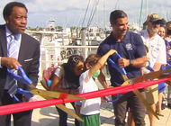 se inaugura la remodelacion de la marina dinner key en coconut grove