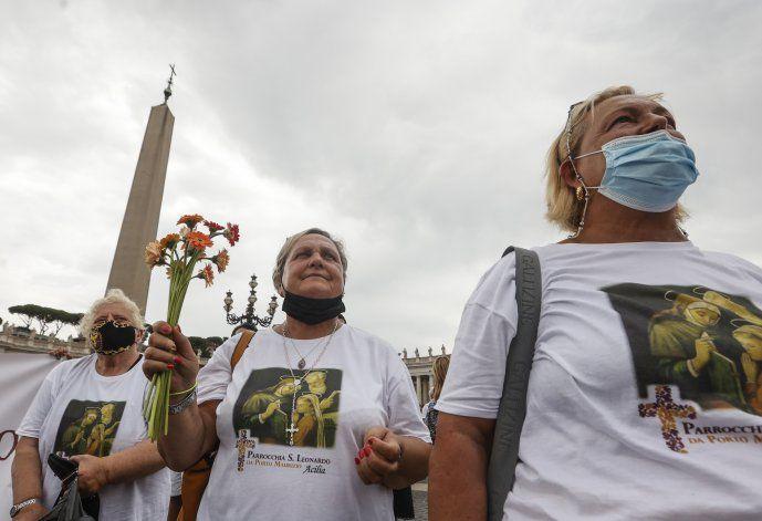El papa celebra la 1era Jornada Mundial de los Abuelos