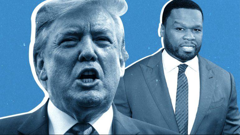 50 Cent apoya a Trump: No me importa que no le gusten los negros