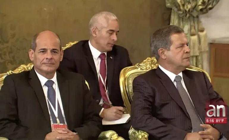 Los cubanos se enteraron por la televisión mexicana del peso real de López-Callejas en el Gobierno de la Isla