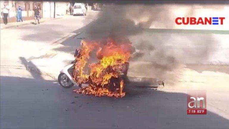 Más de 180 motos eléctricas se incendiaron dentro de casas en lo que va del 2020 en Cuba