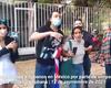 Cubanos y mexicanos le gritaron dictador a Díaz-Canel a su llegada a la embajada de Cuba en México
