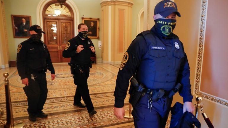 La Policía del Capitolio alerta de potencial violencia en la manifestación de apoyo a Trump del 18 de septiembre