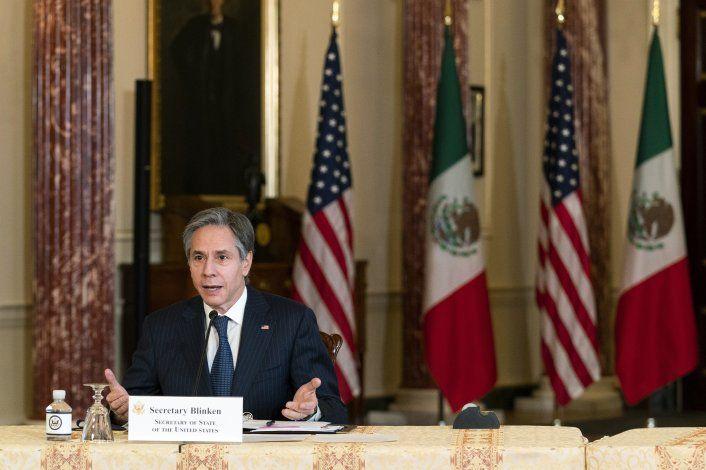 El secretario de Estado de EEUU visita México y Canadá