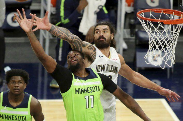 Con ataque bien repartido, Wolves vencen a Pelicans
