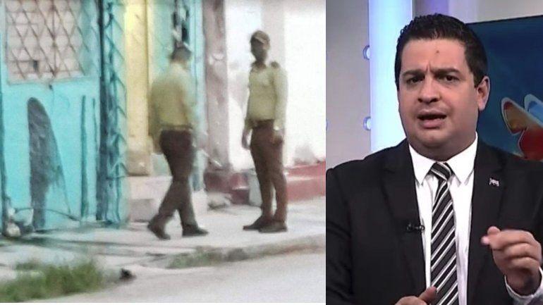 Vandalizan con chapapote la casa del vocero del régimen cubano Humberto López en Matanzas