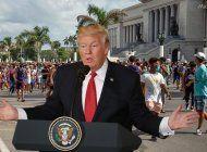 donal trump: estoy con el pueblo cubano al 100% en su lucha por la libertad