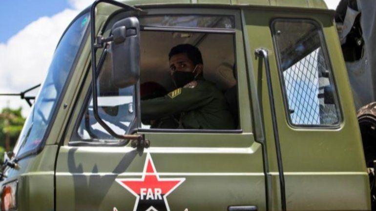 Las calles de Cuba, militarizadas una semana después de las protestas del 11J