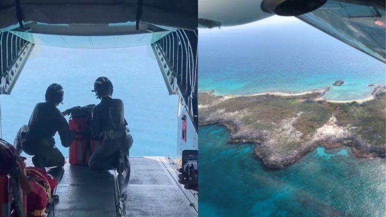Seis cubanos náufragos en una isla son rescatados por la Guardia Costera de EEUU