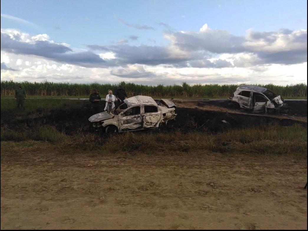 Brutal accidente automovilístico en Las Tunas causa la muerte de seis personas