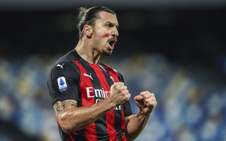 Ibra firma doblete en triunfo del Milan ante Napoli