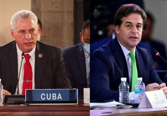 La dictadura ataca al presidente uruguayo tras encarar a Díaz-Canel