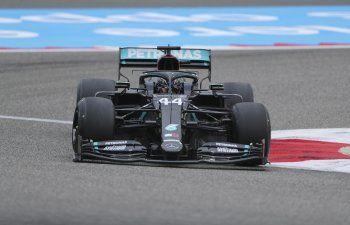 F1: Hamilton domina la 1ra práctica para GP de Bahrein