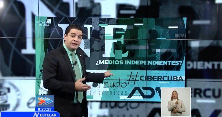 La televisión cubana prepara el terreno: pide juicios para los activistas del Movimiento San Isidro y el 27N