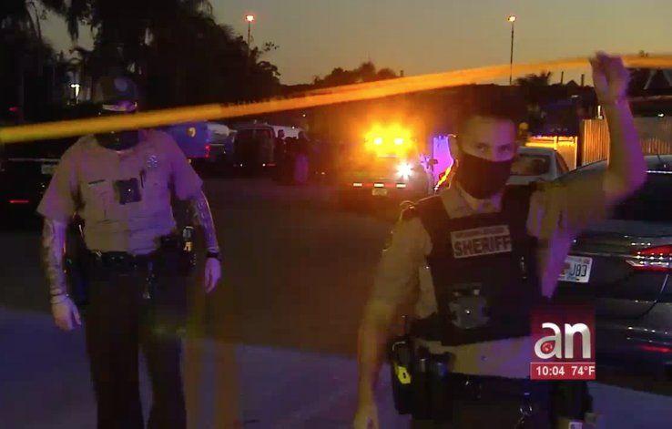 Policía de Miami mata a tiros a sospechoso de intentar entrar a robar a su casa cuando su hijo de 13 años se encontraba solo
