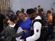 eeuu empieza a recibir algunos pedidos de asilo