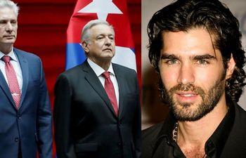 El actor mexicano Eduardo Verástegui arremete contra Miguel Díaz-Canel por su visita a México
