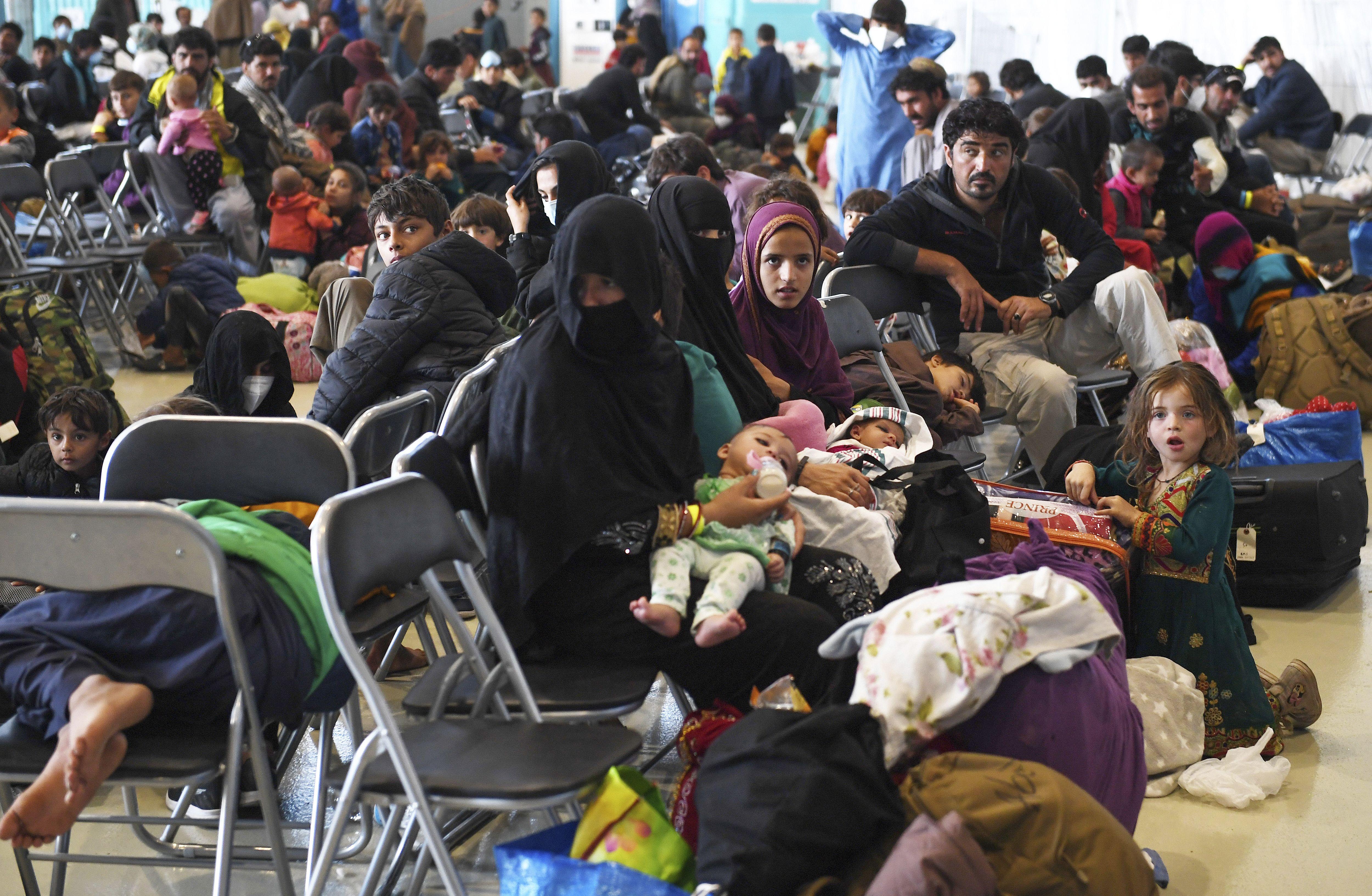 eeuu: reportan casos de sarampion en refugiados afganos