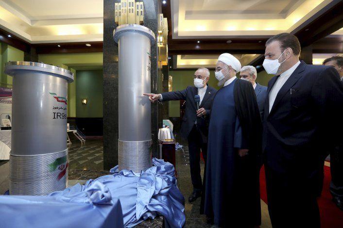 Irán dice estar probando nueva centrífuga nuclear avanzada