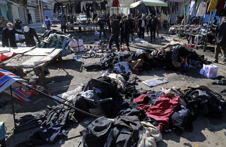 Estado Islámico se atribuye un doble atentado en Bagdad
