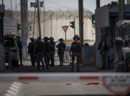 israel: abaten a mujer que empunaba cuchillo en cisjordania