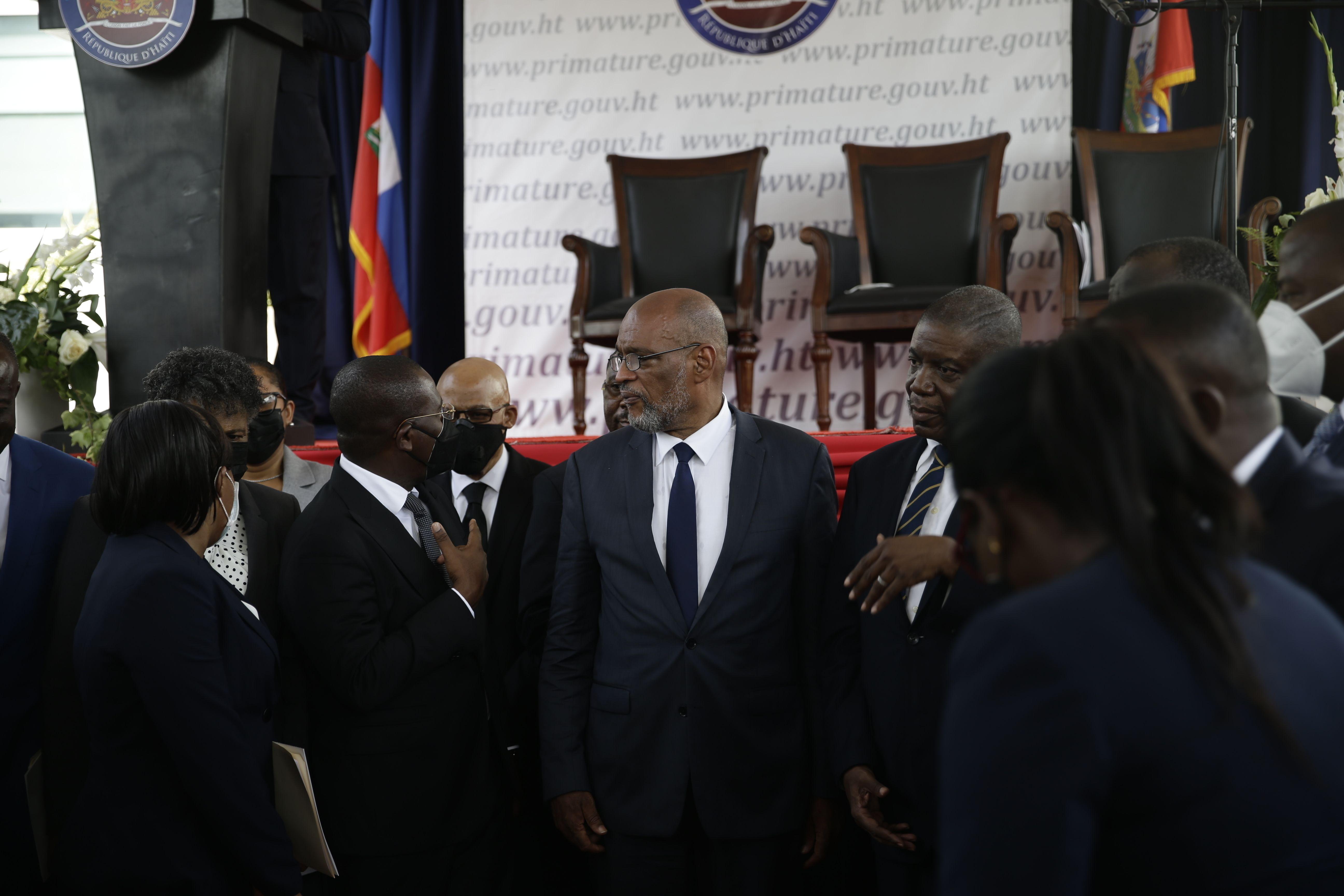 investigacion a 1er ministro desestabiliza gobierno haitiano