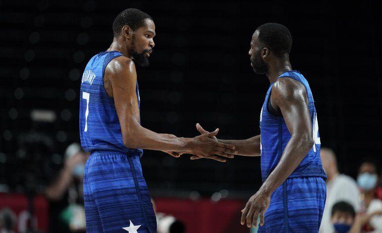 EEUU y 3 invictos disputan las semifinales de baloncesto