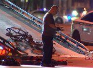 buscan al chofer de un mercedes benz que atropello mortalmente a un ciclista en kendall