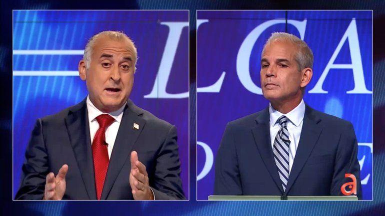 Se caldearon los ánimos en el último debate por la alcaldía del condado de Miami-Dade